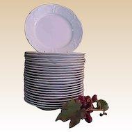 Vintage Rosenthal Sans Souci Ivory Color Salad Plates