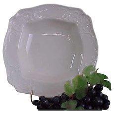 Vintage Rosenthal Sans Souci Ivory Color Square Vegetable Bowl - Red Tag Sale Item