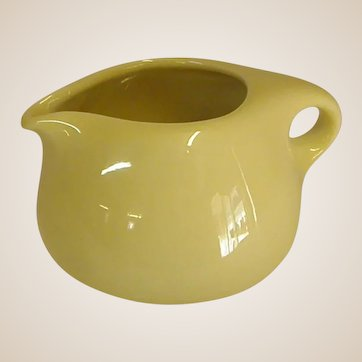 Russel Wright Yellow Casual China Creamer by Iroquois China Co.