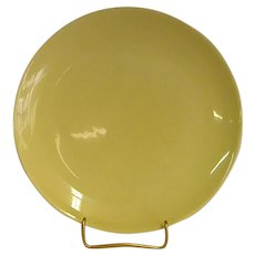 Russel Wright Yellow Casual China Dinner Plates by Iroquois China Co.
