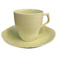 Vintage Rosenthal Sans Souci Ivory Color Demitasse Cups and Saucers