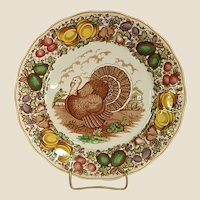 Hard to Find Barker Bros. Ltd Turkey Plate