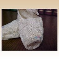 Vintage Crochet Doll/Preemie Shoes