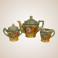 Early 1950s Child or Doll Lustre Tea Set