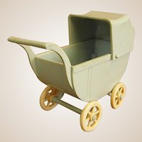 Darling Little Renwal Doll Buggy Stroller