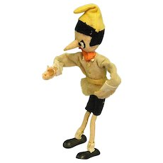 Old Poseable Pinocchio