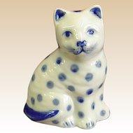 Charming Little Porcelain Cat