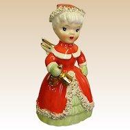 Mid-Century Napco Ware Christmas Angel Bell