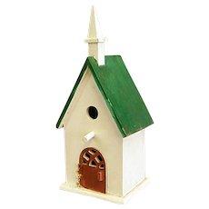Too Cute Folk Art Wood Bird House