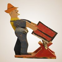 Adorable Handmade Articulated Lumberman