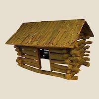 Rustic Old Handmade Wood Log Cabin