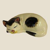 Darling Large Sleeping Cat Figure