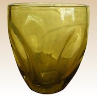 Russel Wright Pinch Chartreuse Tumbler