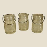 Set of Pine Deluxe Canning Jars