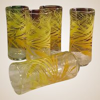 1960s Harvest Color Tumblers