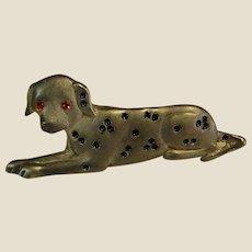 Adorable Dalmatian Dog Pin