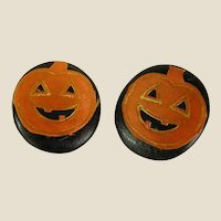 Fun Handmade Pumpkin Earrings