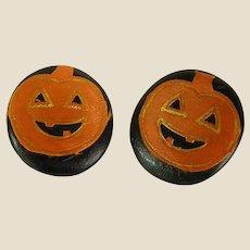 Fun Handmade Pumpkin Earrings