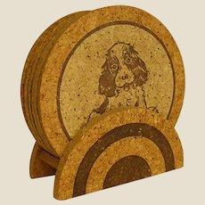 Darling Cork Dog Coasters