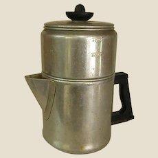 Vintage Enterprise Aluminum Company Drip O Lator Coffee Pot