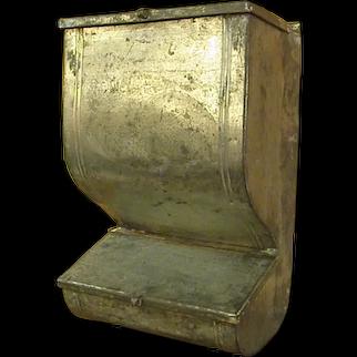 Old Metal Flour Bin from Kitchen Cabinet