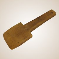 Primitive Wood Butter Paddle