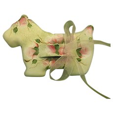 Adorable Little Hand Painted Scottie Cookie Cutter