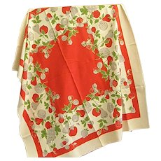1950s Cheery Tablecloth