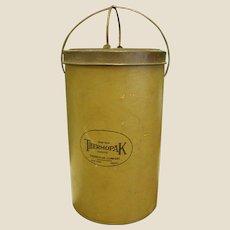 Wonderful 1920s Thermopak Ice Cream Carrier