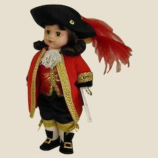 Darling 1990s Madame Alexander Captain Hook