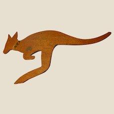World War II Handmade Australian Souvenir Kangaroo