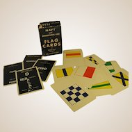 1950s Navy and International Code Flag Cards