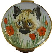 Darling Vintage Enamel Trinket Box by Crummels and Company