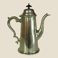 Wonderful Sheffield Pewter Coffee Pot