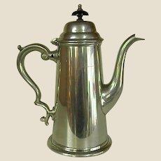 Wonderful Sheffield Pewter Coffee Pot
