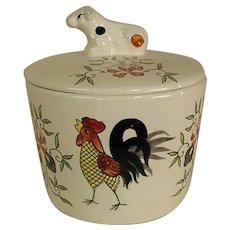Cute Lidded Ceramic Jar