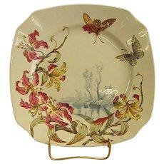 Gorgeous Keller & Guerin Luneville Square Plate