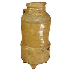 Earthy Hand-Thrown Wood Fired Pottery Jug by Shane Tidmore