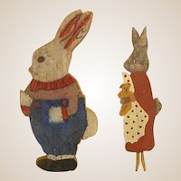 Darling Homemade Flat Rabbits