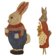 Darling Homemade Flat Rabbits