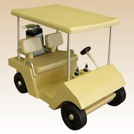 Handmade Wooden Golf Cart