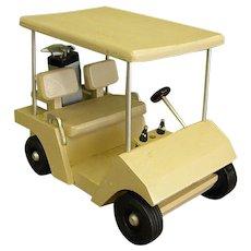 Handmade Wooden Golf Cart