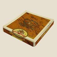 Interesting Vintage Jose Melendi Cigar Box J. B. Back & Co.
