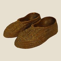 Well-Loved Syroco Moccasin Pipe Holder