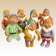Wonderful Vintage Disney Seven Dwarfs