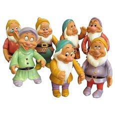 Wonderful Vintage Disney Seven Dwarfs