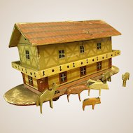 Victorian Noah's Ark Pull Toy