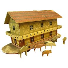 Victorian Noah's Ark Pull Toy