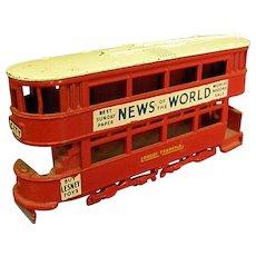 1950s Lesney No. 3 Double-Decker Bus