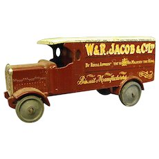 Early Lesney Matchbox W&R Jacob 4 Ton Leyland Truck